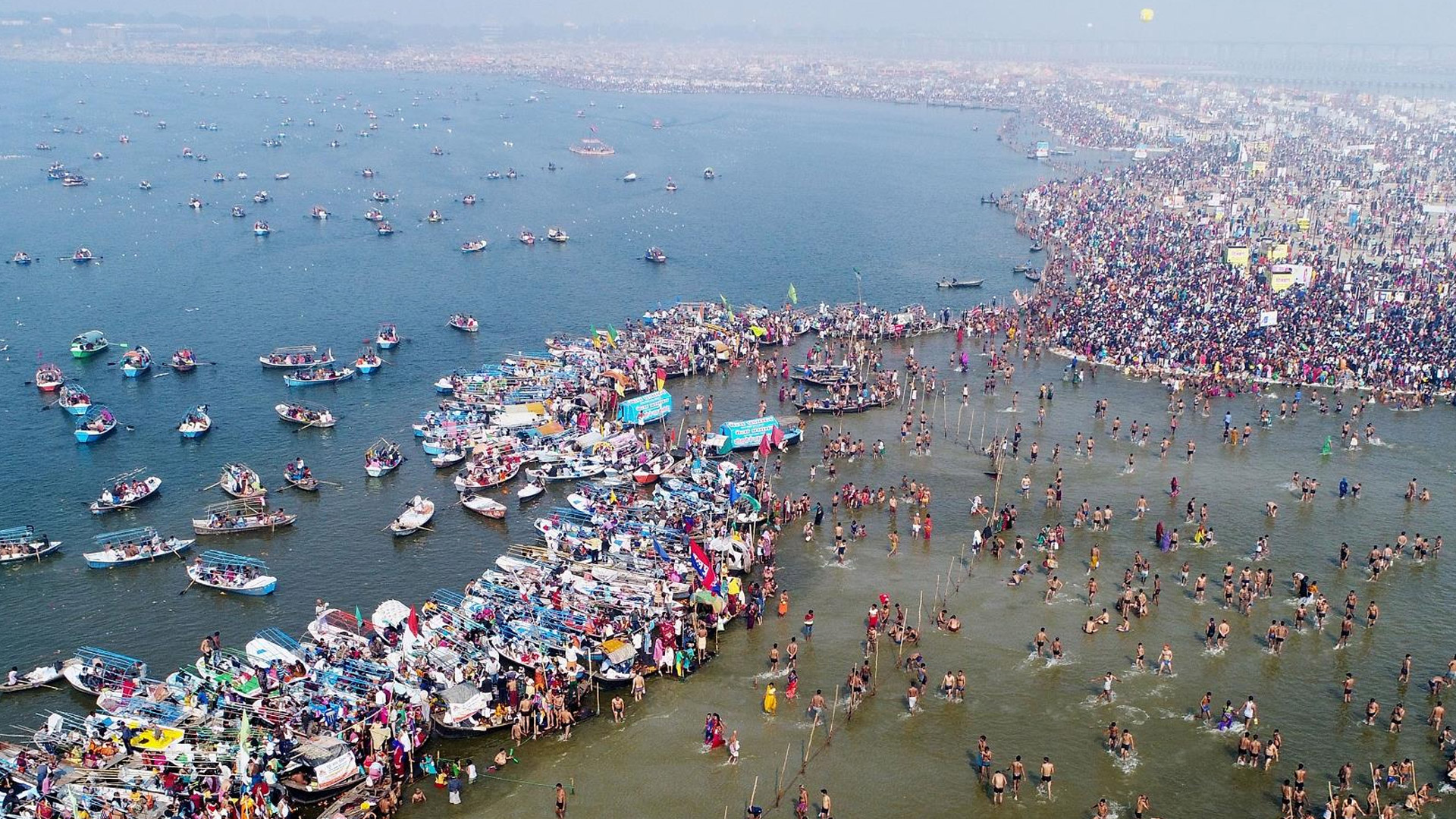 Sangam, Sadhus And Traditions, Kumbh Mela in Prayagraj!