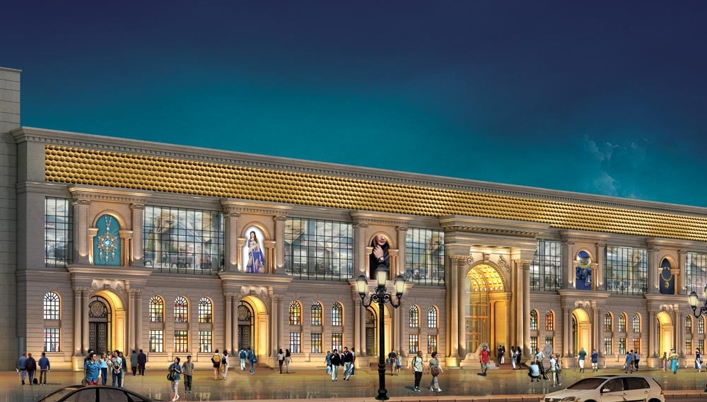 commercial development project in Chandni Chowk