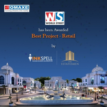Omaxe World Street bags Estatesmen Awards for  Best Retail Project