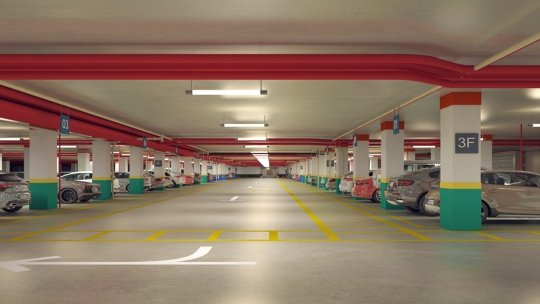 Multi-Level Parking Facilities Now Emerging as Real Estate