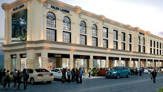 shopping destination World Street in Sector 79